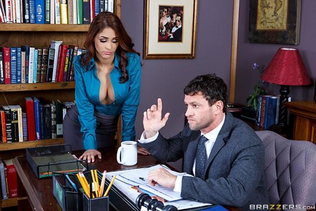 Jasmine Caro – Getting The Boss's Attention