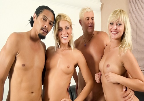 ImmoralLive – Katy Rose, Sweet Cat – Black Meat Shaft Shared By Two Luscious Blondes