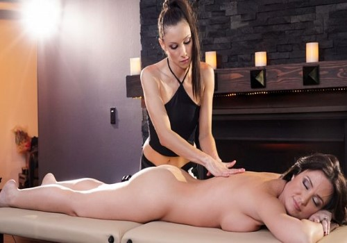 AllGirlMassage – Celeste Star, Angela Sommers – Newly Wed and Alone
