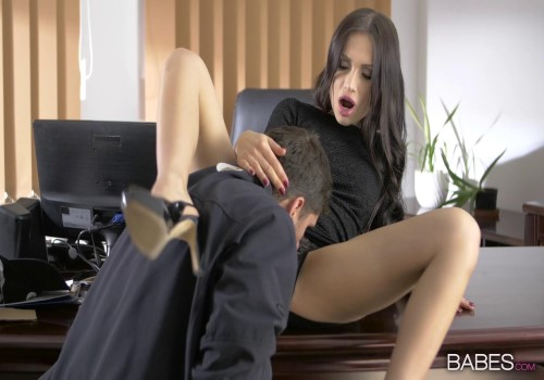 OfficeObsession – Sasha Rose – Quite The Package
