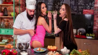 DoeProjects – Francys Belle, Angel Rush – Chef De Sex – Food Play Is Required
