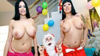 BoobDay – Gigi Love, Shione Cooper – Santa takes a break to cum